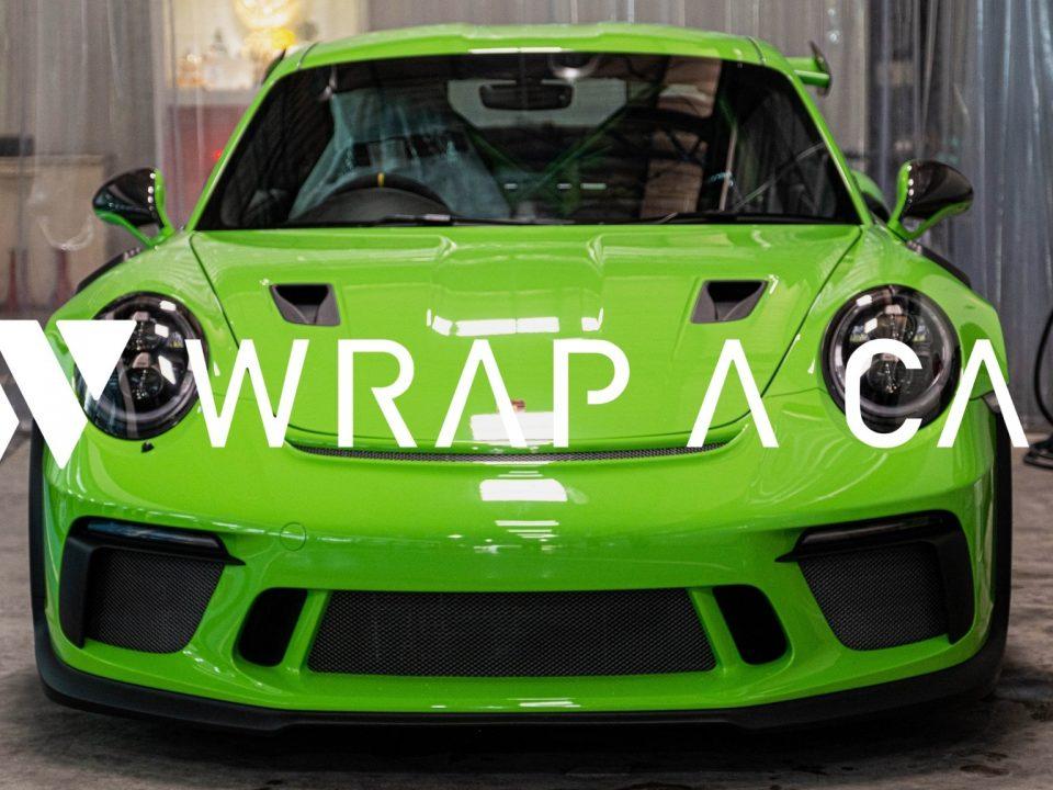 WRAP A CAR ฟิล์มใสกันรอยเพื่อการป้องกันที่เหนือไปอีกชั้น
