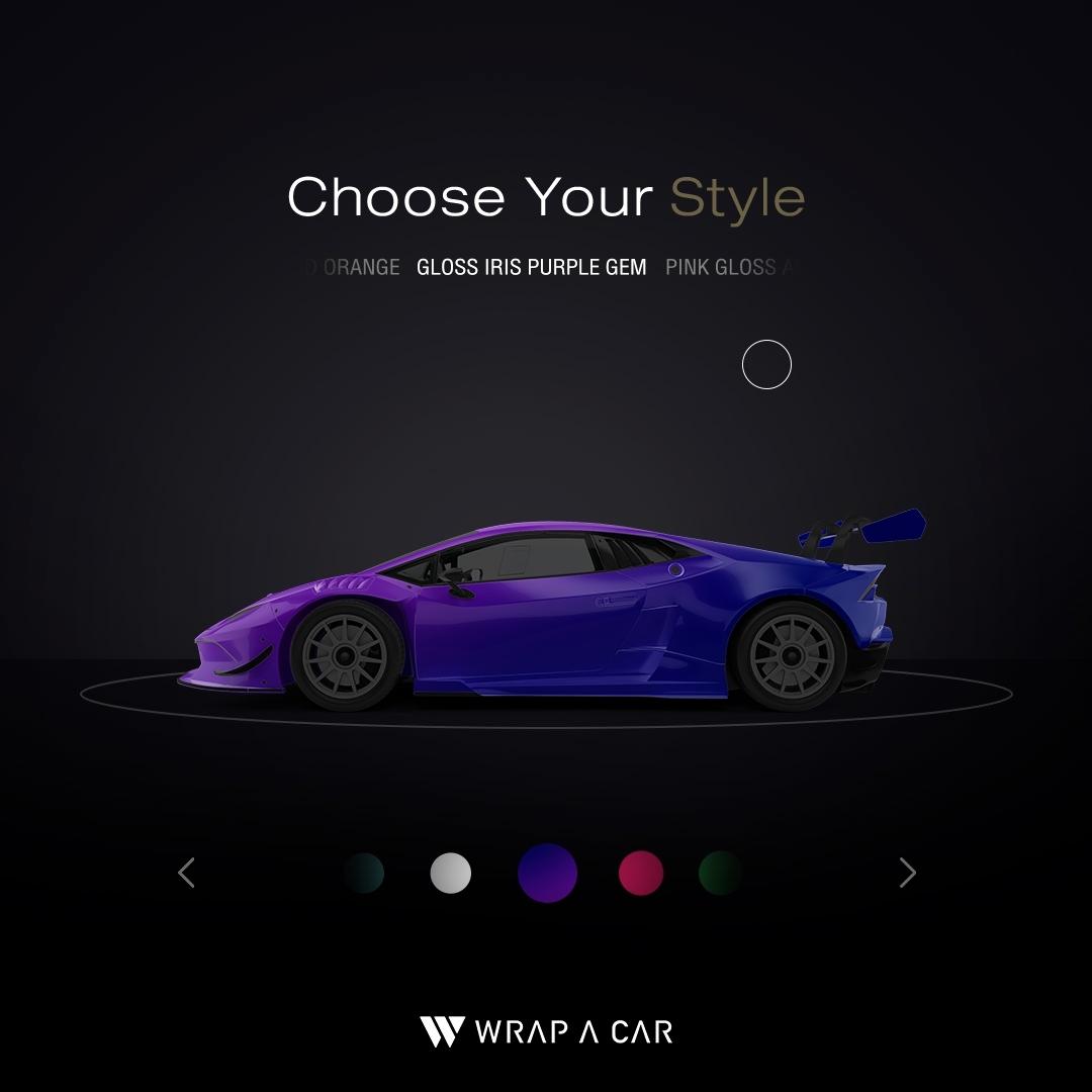 WRAP A CAR ย้อนวันวานสีรถ